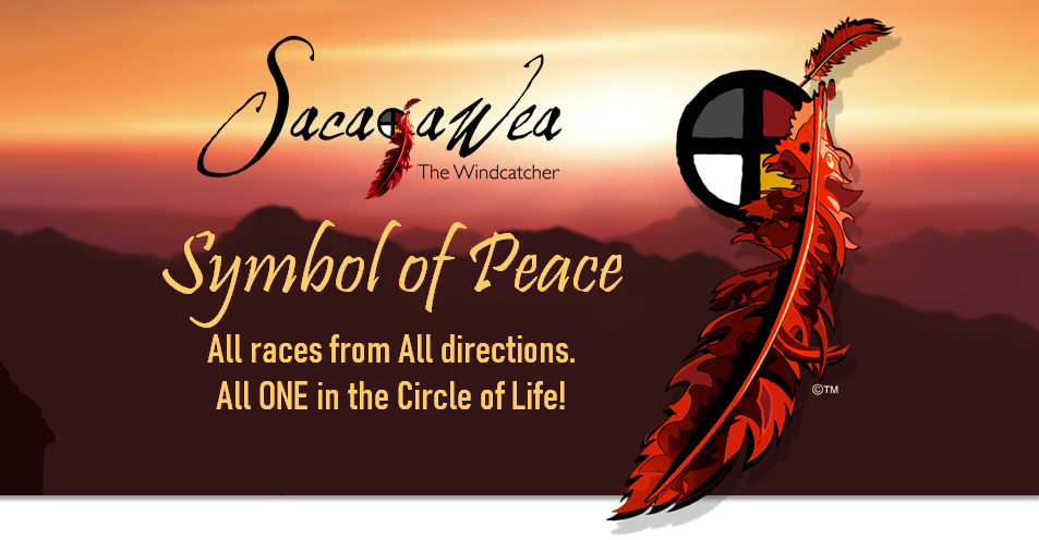 Sacajawea symbol of peace