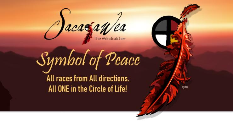 Sacajawea symbol of peace